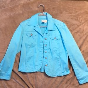 Live a Little Blue Jacket